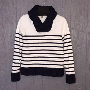 J. Crew Sweaters - 💥 3/$25 J Crew Striped Chunky Sweater Sz XXS   E7